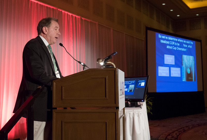Speakers and attendees during The Spine and Its Influence on Total Hip Arthroplasty and Instability