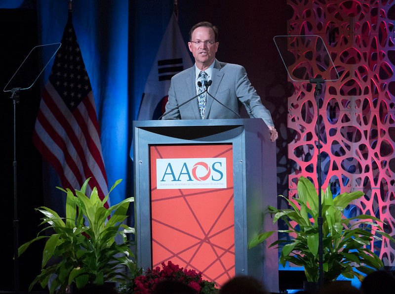 David A. Halsey, M.D., during Your Academy 2019: Awards Presentation for Kappa Delta & OREF,