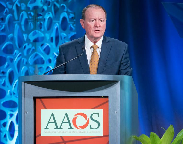 David D. Teuscher, M.D., during Business Meeting/Your Academy