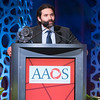 Samer Attar, M.D., accepts the 2019 AAOS Humanitarian Award during Your Academy 2019: Awards Presentation for Kappa Delta & OREF,
