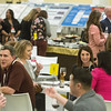 Attendees during Career Center Networking Event