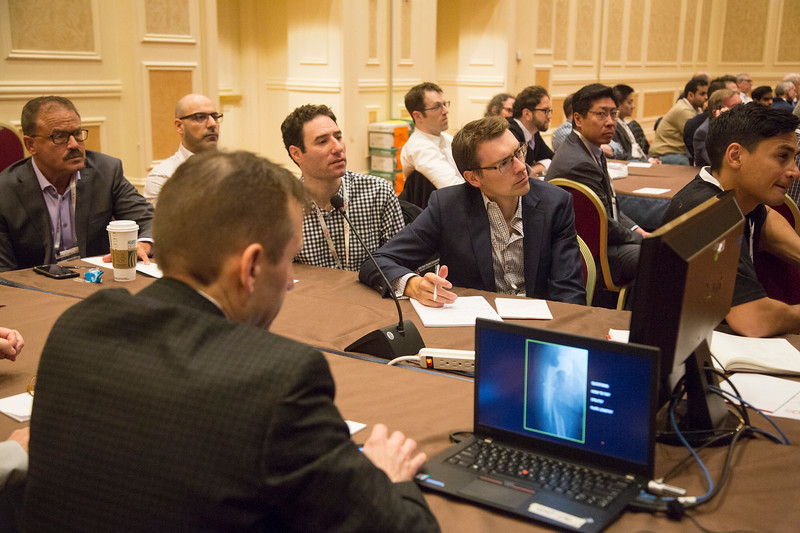 Attendees and speakers during 181 - Case Presentation: Periprosthetic Fractures of the Hip and Knee: A Case-Based Instructional Course Lecture