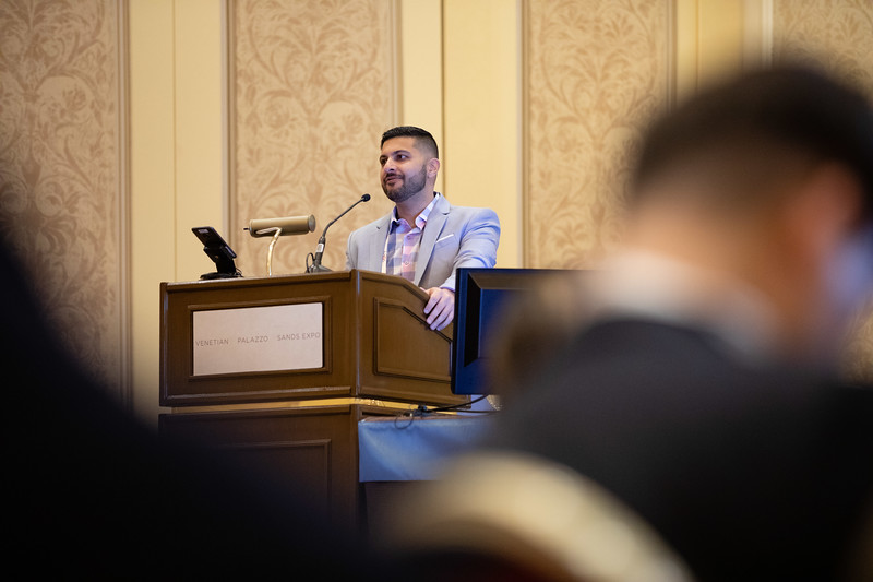 Hassan Mir, MD, MBA, FACS, speaks during Cultural Considerations in Education and Patient Care