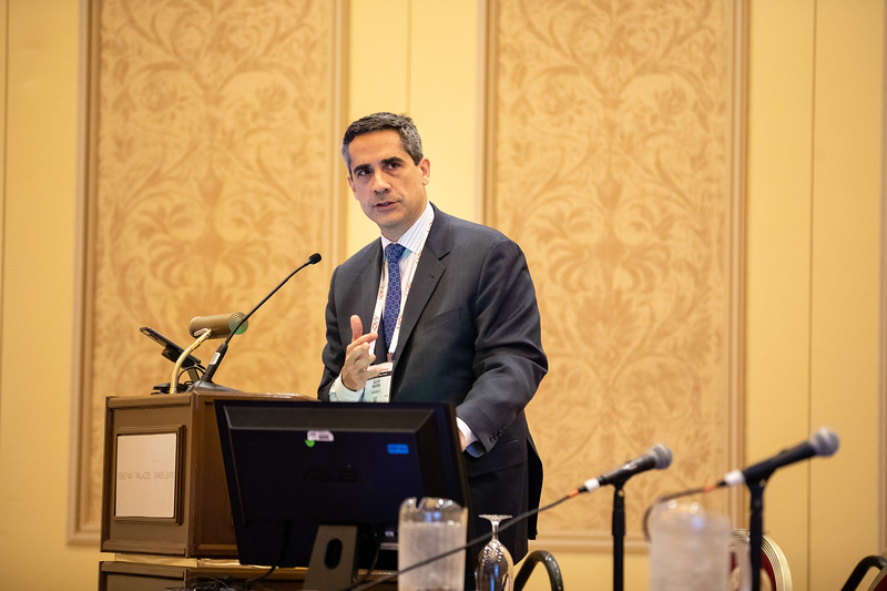 Guido Marra, MD, speaks during Cultural Considerations in Education and Patient Care