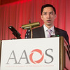 Michael Fu, MD, presents  during Delay to Arthroscopic Rotator Cuff Repair is Associated with Increased Risk of Revision Rotator Cuff Surgery
