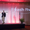 Speakers and attendees during Flash Five: What's Coming Down the Pike (FF1)