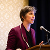 Kristy L. Weber, MD, speaks during RJOS Annual Meeting