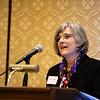 Marlene DeMaio, MD, speaks during RJOS Annual Meeting
