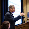 David F Martin, MD, speaks during RJOS Annual Meeting