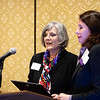 Marlene DeMaio, MD, and Alexe Page, MD, during RJOS Annual Meeting