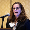 Mary Mulcahey, MD, speaks during RJOS Annual Meeting