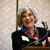 Marlene DeMaio, MD, speaks during RJOS Annual Meeting