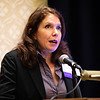 Alexe Page, MD, speaks during RJOS Annual Meeting