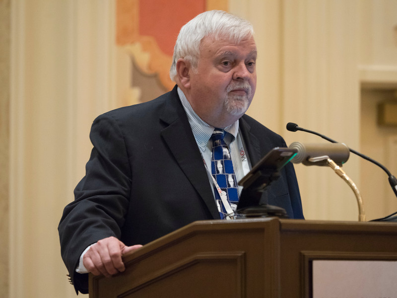 R. Dale Blasier, M.D., during The Aging Surgeon