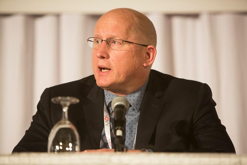 Robert F. Ostrum, MD, speaks during ICL 114 - Trauma Mini-Review: Hot Topics and the Latest Treatment Strategies in Orthopaedic Trauma