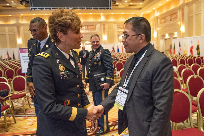 Speakers/Attendees/names here during U.S. Army Surgeon General Interview