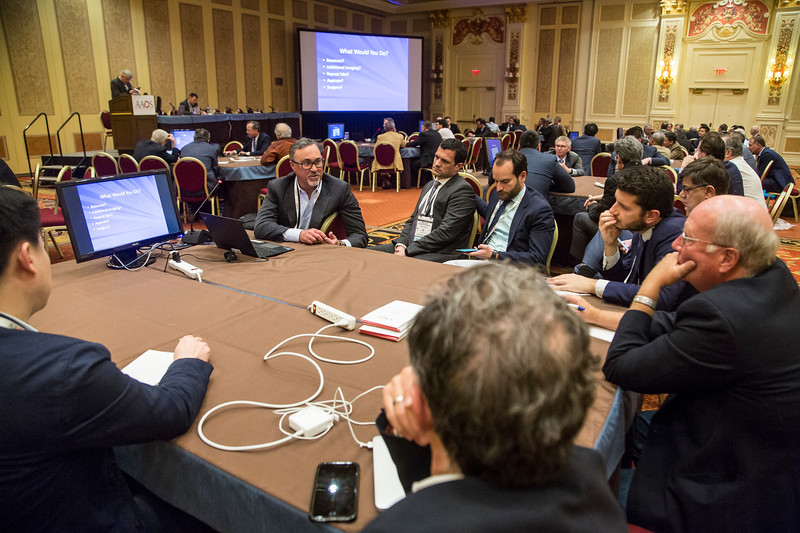 Attendees and Speakers during 285 - Case Presentation: Trunions, Tapers and Corrosion in Total