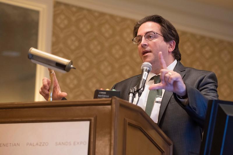Dennis Thomatos during Fellowship Directors Forum