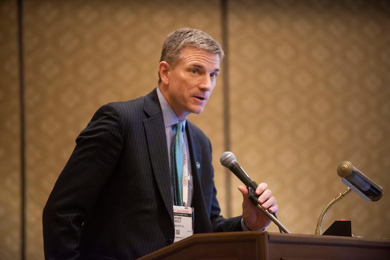 Brian R. Wolf during Fellowship Directors Forum