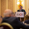 Richard Iorio, MD, speaks during Industry Lunch and Learns