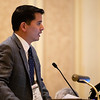 Alexander Sah, MD, speaks during Industry Lunch and Learns