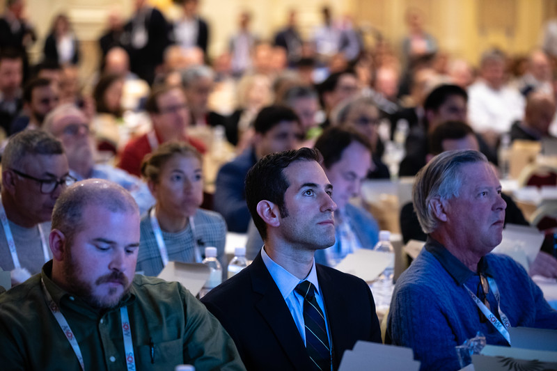 Attendees during Industry Lunch and Learns