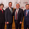 the AAOS Presidential line with International Guest Nation Representatives during International Presidents Breakfast & World Opinion Forum