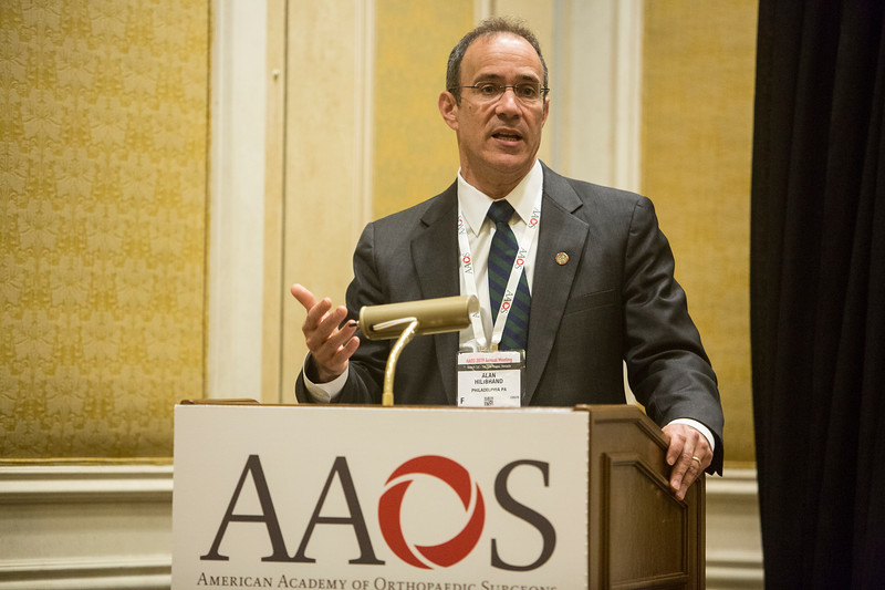 Alan S. Hillibrand, MD, speaks during Media Round Table(s)