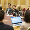 Nathanael D. Heckmann, MD, speaks during Media Round Table(s)