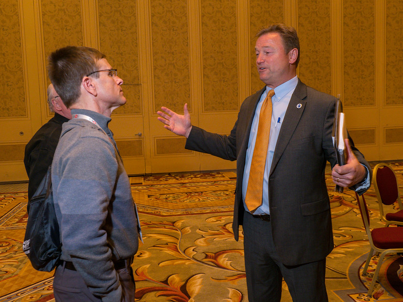 PAC Luncheon featured speaker Sen Dean Heller speaks during PAC Luncheon
