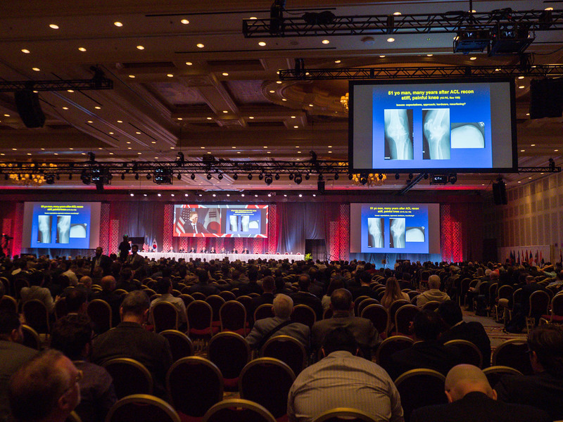 Speakers and panel during Practical Solutions for Challenging Problems in Total Knee Arthroplasty