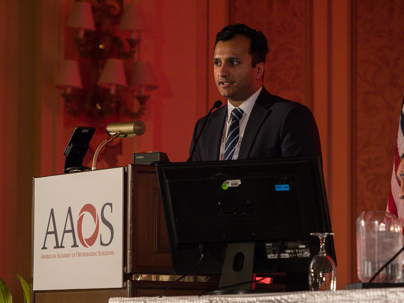 Other speakers during session during Reoperation, Revision, and Repeat Revision Rates and the Potential Cost-Utility of Knee Preservation in Young Total Knee Arthroplasty Patients