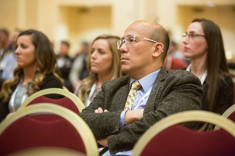 Speakers and Attendees  during Symposium F - Management of Shoulder Instability in 2019