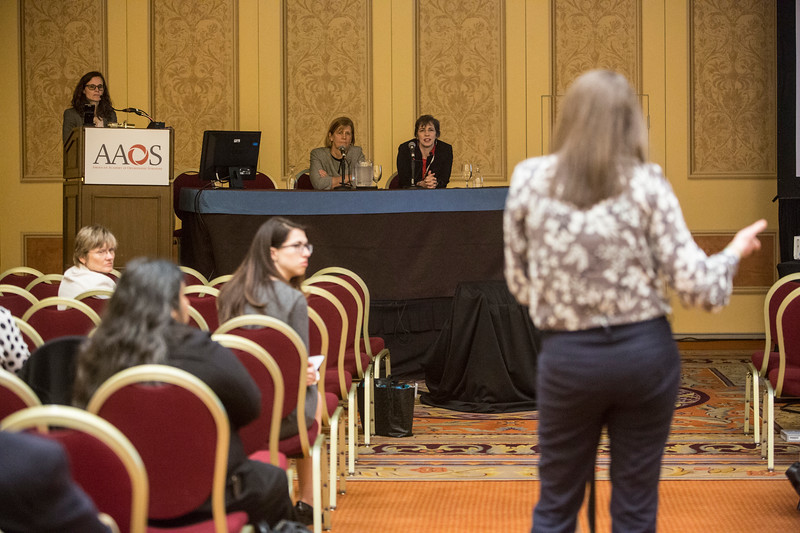 Speakers and Attendees  during ICL 204 - Women in Orthopaedics: How Understanding Implicit Bias Can Help Your Practice