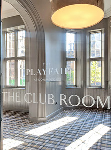 City and Country Playfair at Donaldsons - club room interior photography