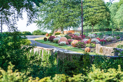 Entrance and landscaping to Culzean Castle