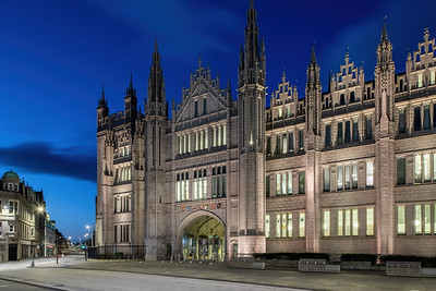 Marischal College, Aberdeen, night photography 014