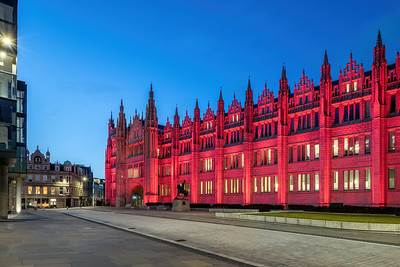 Marischal College, Aberdeen, night photography 005