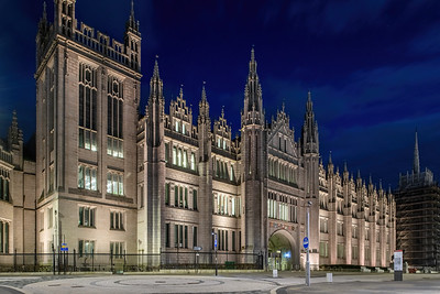 Marischal College, Aberdeen, night photography 020
