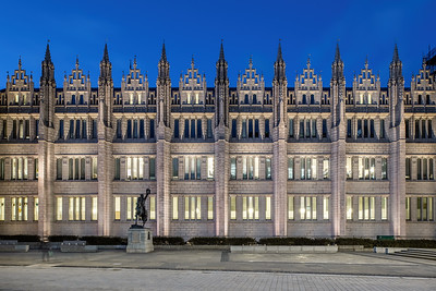 Marischal College, Aberdeen, night photography 008