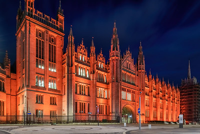 Marischal College, Aberdeen, night photography 022