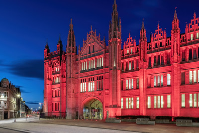 Marischal College, Aberdeen, night photography 017