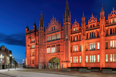 Marischal College, Aberdeen, night photography 016