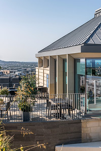 Exterior architectural photography of The Lookout on Calton Hill by Collective Architectur