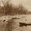 Wells College, lake shore near the boat house.  Aurora, NY. (Photo ID: 41767)