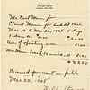 Sherwood Hospital. Claude Mann's birth on March 22, 1928. (Photo ID: 30501)