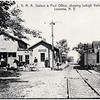 L. V. R. R. Station & Post Office. (Photo ID: 28002)