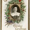 Souvenir of Holiday Greetings 1918 Goodyears School, District #10, Genoa, NY. Bessie M. Hahn, Teacher, 1917 - 1918. (Photo ID: 45549)