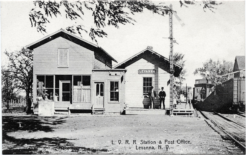 L. V. R. R. Station & Post Office. (Photo ID: 28001)