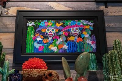 Tucson Botanical Garden and the  La Calavera Catrina Exhibition